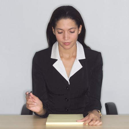 Woman-preparing-for-a-job-interview-450x450