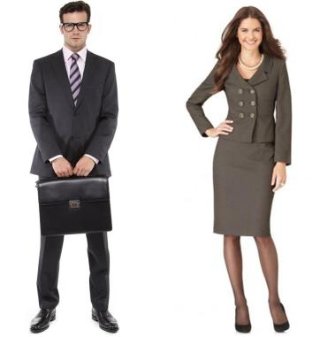 Interview clothing men and women